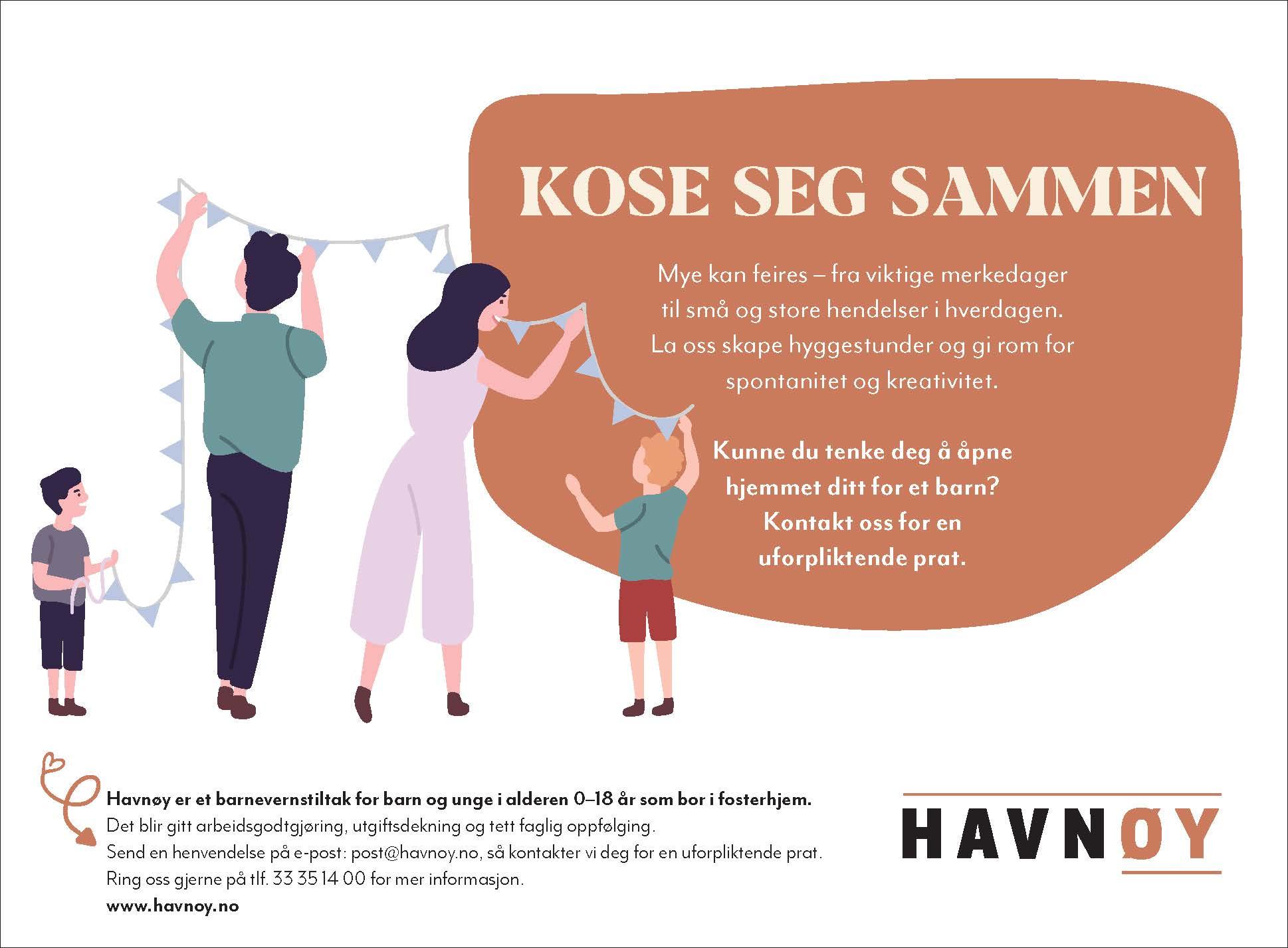 Vi søker fosterhjem i Vestfold og Telemark